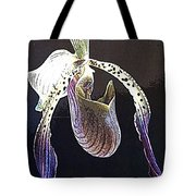 Slipper Orchid Tote Bag