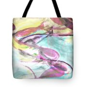 Slippery Fish Tote Bag