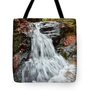 Slippery Rock Falls Fdr State Park Ga Tote Bag