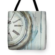 Slipping Time Tote Bag