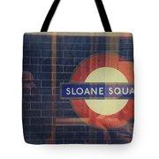 Sloane Square Portrait Tote Bag