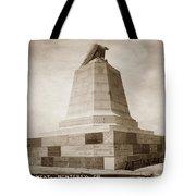 Sloat Monument On The Presidio Of Monterey Circa 1910 Tote Bag