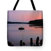 Sloop Sunset Tote Bag