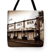 Sloppy Joe's - Key West Florida Tote Bag by Bill Cannon