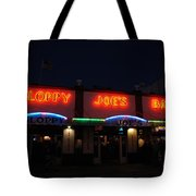 Sloppy Joes By Night Tote Bag