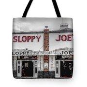 Sloppy Joe's Saloon- Key West Tote Bag