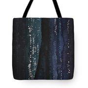 Slot Canyon In Moonlight Original Painting Tote Bag