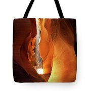 Slot Canyon Light Tote Bag