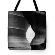 Slot Canyon - Monochrome Tote Bag