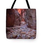 Slot Canyon Reflections Tote Bag