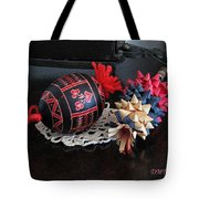 Slovenian Easter Tote Bag