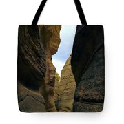 Slot Canyon Within The Tent Rocks Tote Bag