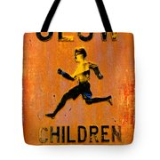Slow Children Playing Tote Bag
