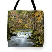Slow Down At Alley Tote Bag