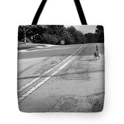 Slow Down- Stop Sign Ahead Tote Bag