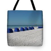 Slow Morging At The Beach Tote Bag