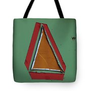 Slow Moving Vehicle Sticker Tote Bag