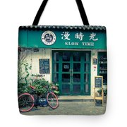 Slow Time Tote Bag