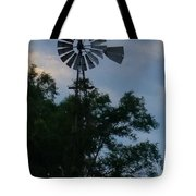 Slowly Blows The Wind Tote Bag