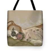 Slumbering Grace Tote Bag