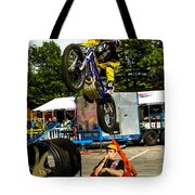 Smage Passing Over Tote Bag