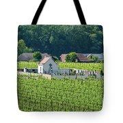 Small Austrian Cemetery  Tote Bag