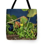 Small But Stirring Tote Bag