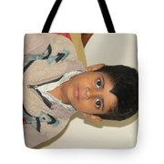 Small Child Images Tote Bag