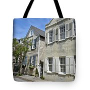 Small Colonial Style Homes Tote Bag