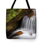Small Falls At Governor Dodge State Park Tote Bag
