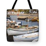 Small Fishing Boats Tote Bag