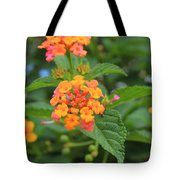Small Flowers On A Tree Tote Bag