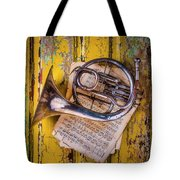 Small French Horn Tote Bag