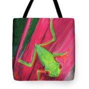 Small Frog Tote Bag