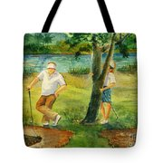 Small Golf Hazard Tote Bag