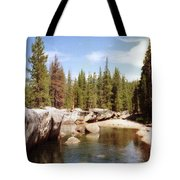 Small Lake Sierra Nevada Tote Bag