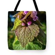 Small Mauve Flowers 7 Tote Bag