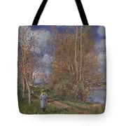 Small Meadows In Spring Tote Bag