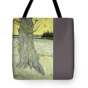 Small Pear Tree In Blossom Arles, April 1888 Vincent Van Gogh 1853  1890 Tote Bag