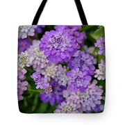Small Pink Flowers 10 Tote Bag