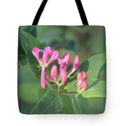Small Purple Spring Flowers Tote Bag