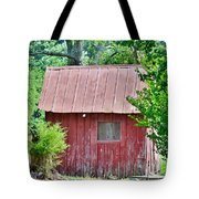 Small Red Barn - Lewes Delaware Tote Bag