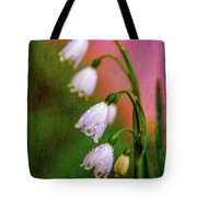 Small Signs Of Spring Tote Bag