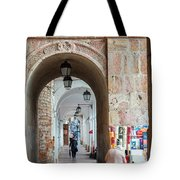 Small Stall In Cuenca Ecuador Tote Bag