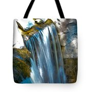 Small Stop Motion Waterfall Tote Bag