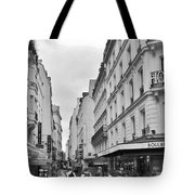 Small Street In Paris Tote Bag