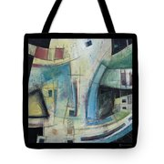 Small Town Blues Tote Bag
