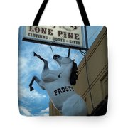 Small Town California -  U S 395 Tote Bag by Glenn McCarthy Art and Photography
