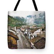 Small Town Ecuador Tote Bag