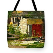 Small Town Life Tote Bag